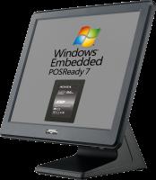 AerPOS PP-9635AV, 4GB, 120GB SSD, Win POSReady 7, rámeček, černý