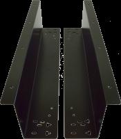Držáky pro zavěšení pokladní zásuvky C420/C425/C430/S-410, černé