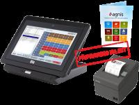 EET sestava 3 - Pokladní tablet ELO + Epson TM-T20II + SW AGNIS