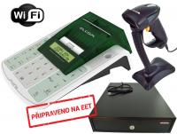 EET sestava 4 - EURO-50TEi Mini Wi-Fi + zásuvka EK-300 + čtečka HT-310A