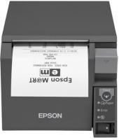 Tiskárna EPSON TM-T70II, USB + serial (RS-232), tmavě šedá