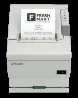 Tiskárna EPSON TM-T88V, řezačka, USB + serial (RS-232), bílá