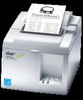 Tiskárna STAR TSP143U ECO, řezačka, USB, bílá