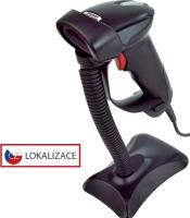 Laserová čtečka Virtuos HT-900A, USB, stojánek, černá