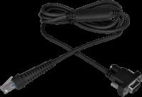 Kabel RS-232 pro čtečky Virtuos HW-310A, tmavý