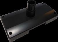Plastový podstavec pro LCD a VFD displeje Virtuos, černý