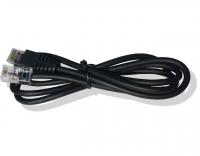 Kabel RJ45 12V pro pokl. zásuvku a pokl. Euro 50/EFox, 1,1 m, černý