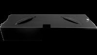 Kovový uzamykatelný kryt pro kovový pořadač (EKN9012), černý