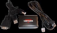 Sada: RS-232 adaptér pro pokladní zásuvky + kabel 10P10C-6P6C-9-12V