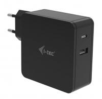 Napájecí adaptér i-tec USB-C + USB-A Port 12W