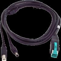 Napájecí 12V USB-B kabel pro připojení AerMonitoru ke Gladiusu Smart