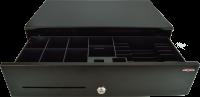 Pokladní zásuvka SK-500 - bez kabelu, pořadač 6/8, 9-24V, černá
