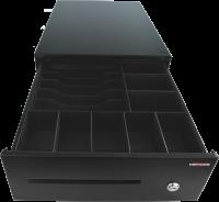 Pokladní zásuvka SK-325 - bez kabelu, pořadač 6/8, 9-24V, černá