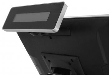 LCD displej zákaznický LCM 20x2 pro AerPOS, černý  - 1