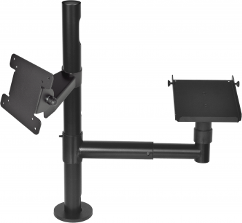 Virtuos Pole - Sestava - stojan s ramenem, držáky VESA a tiskárny  - 1