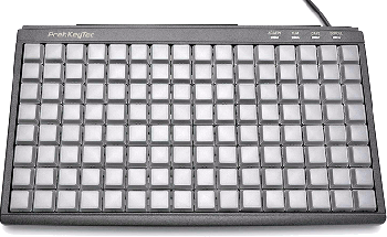Programovatelná klávesnice Preh MCI128, USB, černá