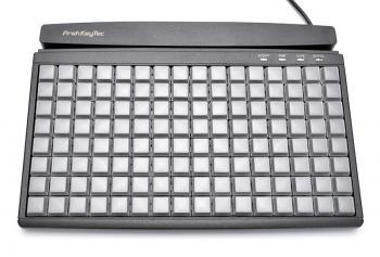 Programovatelná klávesnice Preh MCI128, MCR, USB, černá