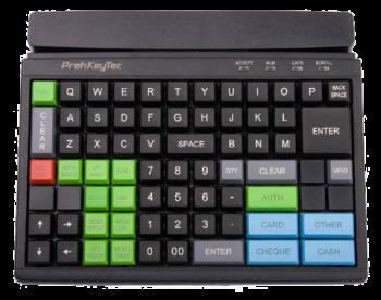 Programovatelná klávesnice Preh MCI84, USB, černá  - 1