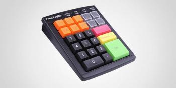 Programovatelná klávesnice Preh MCI30,USB,černá  - 1
