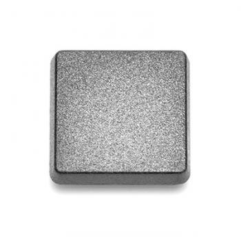 Plastová klávesa zaslepovací 1x1, černá