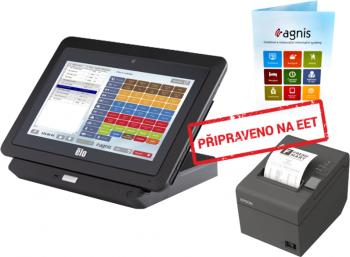 EET sestava 3 - Pokladní tablet ELO + Epson TM-T20II + SW AGNIS  - 1