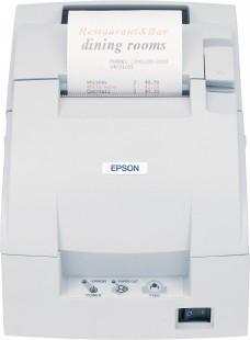 Tiskárna EPSON TM-U220B, řezačka, serial (RS-232), bílá