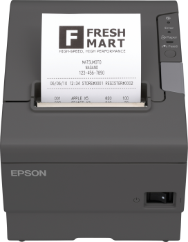 Tiskárna EPSON TM-T88V, řezačka, USB + paralelní, černá  - 1