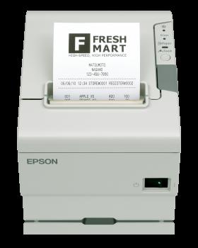 Tiskárna EPSON TM-T88V, řezačka, USB + serial (RS-232), bílá  - 1