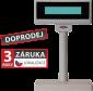 LCD zákaznický displej Virtuos FL-2024LW 2x20, USB, 5V, béžový - 1/2