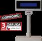 LCD zákaznický displej Virtuos FL-2024LB 2x20, USB, 5V, béžový - 1/2
