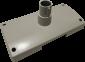 Plastový podstavec pro LCD a VFD displeje Virtuos, béžový - 1/2