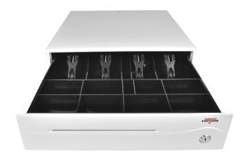 Pokladní zásuvka C420B - bez kabelu, 9-24V, jasně bílá  - 1
