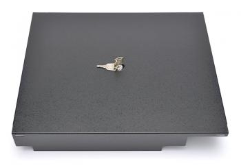 Kryt se zámkem a klíčky pro pořadače bankovek EKA9008/EKA9051