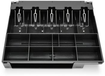 Plastový pořadač na peníze pro C410/C420/C430, kovové držáky bankovek  - 1