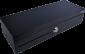 Pokladní zásuvka flip-top FT-460V-RJ10P10C, bez kabelu, se zam. krytem, černá - 1/6