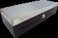 Pokladní zásuvka flip-top FT-460V2 - bez kabelu, se zam. krytem, NEREZ víko, černá - 1/4