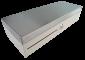 Pokladní zásuvka flip-top FT-460V3 - bez kabelu, se zam. krytem, NEREZ víko, bílá - 1/6
