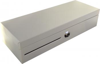 Flip-top FT-460C4 - s kabelem, se zamykacím krytem, bílá  - 1