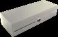 Flip-top FT-460C4 - s kabelem, se zamykacím krytem, bílá - 1/6