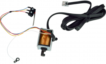 Elektromagnet 24V/1A s kabelem pro pokladní zásuvku S-410
