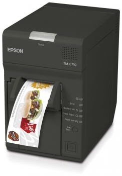 Tiskárna EPSON TM-C710, tiskárna barevných kupónů  - 1