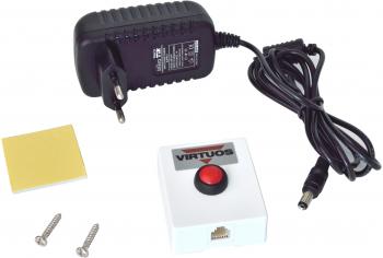 Tlačítko pro otvírání pokladních zásuvek, plastové bez kabelu  - 1