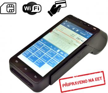 EET pokladna FiskalPRO A8, 4G, LTE, WiFi, BlueTooth, micro USB  - 1