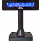 LCD zákaznický displej Virtuos FL-2025MB 2x20, USB, černý - 1/7