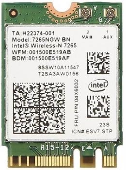 Wi-Fi / Bluetooth adaptér Intel Dual Band Wireless-AC 7265, M.2