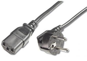 Napájecí kabel pro zdroje tiskáren a monitorů