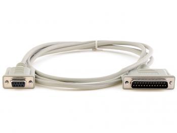 Seriový kabel 9/25 pro pokladní tiskárny EPSON, 3 m