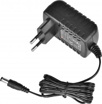 Napájecí zdroj pro zákaznické displeje 12V/1A s LED diodou  - 1