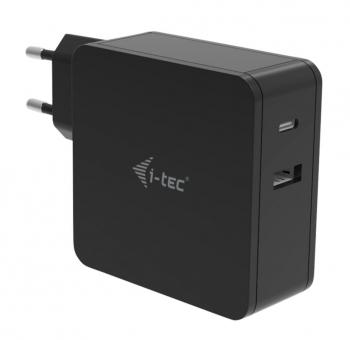 Napájecí adaptér i-tec USB-C + USB-A Port 12W  - 1