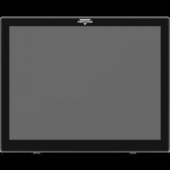 """Druhý LCD LED 15"""" pro XPOS, šedý  - 1"""